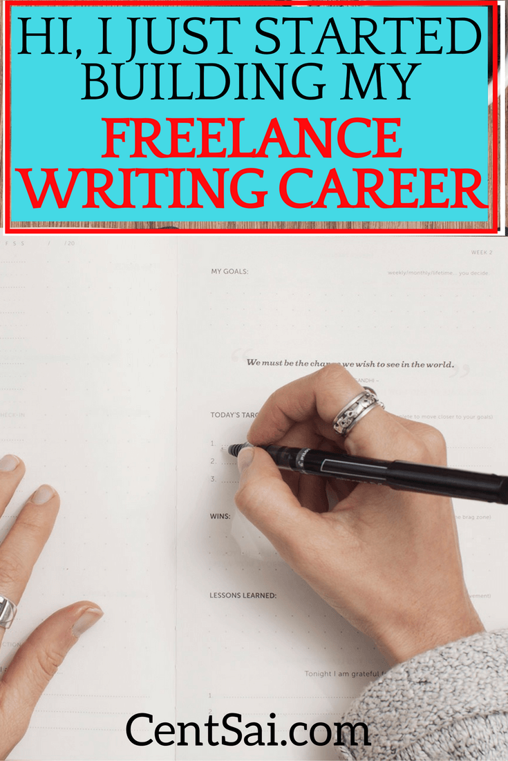 Hi, I Just Started Building My Freelance Writing Career. This is how I started to feel about my full-time job last year. While I'm grateful to have a stable job and to earn enough to meet my needs, I still feel like I don't belong, and I lack passion for what I do.
