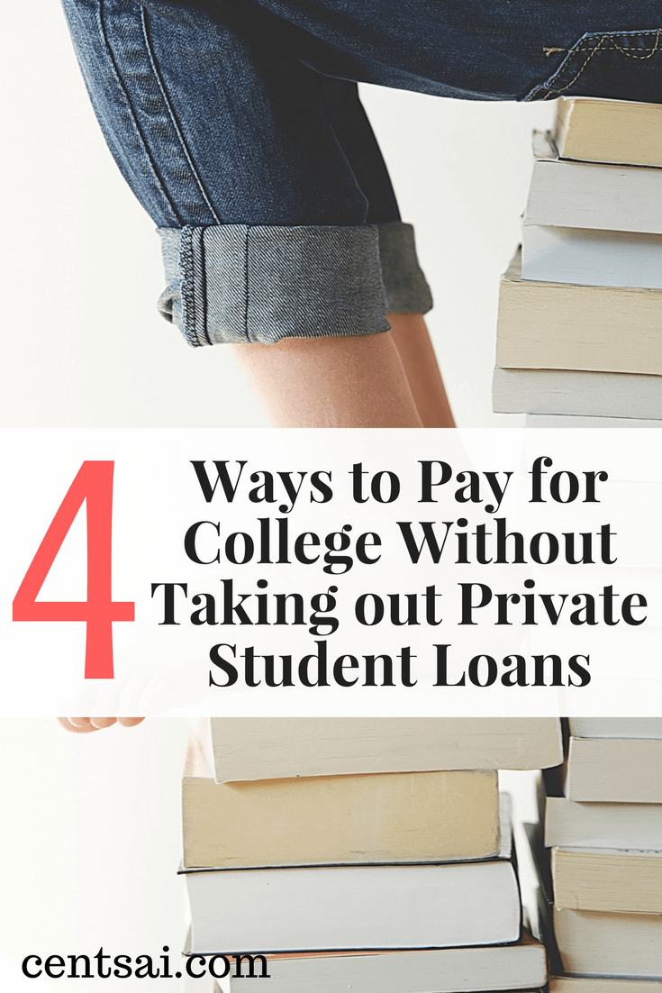 Federal student loans won't cover the full cost of college. But rather than relying on private student loans to pick up the slack, here are four alternatives that can help.