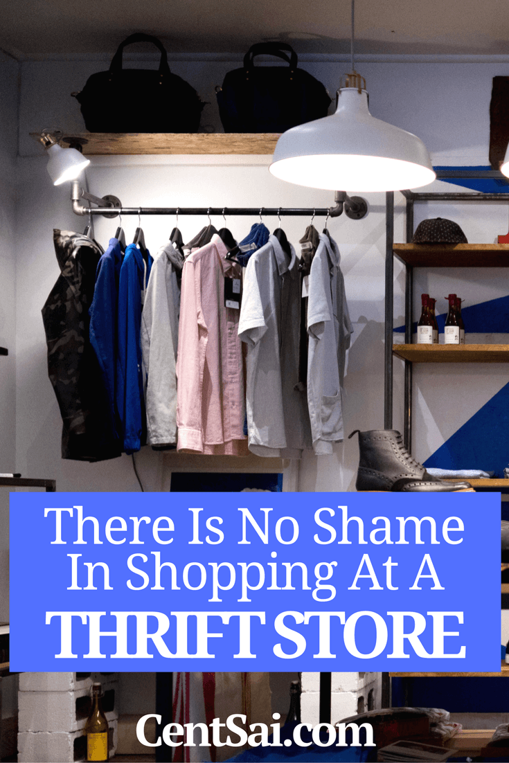 Shopping at thrift stores can save you a bundle on clothes, household items, and even furniture. So why is there this weird stigma attached to buying second-hand?