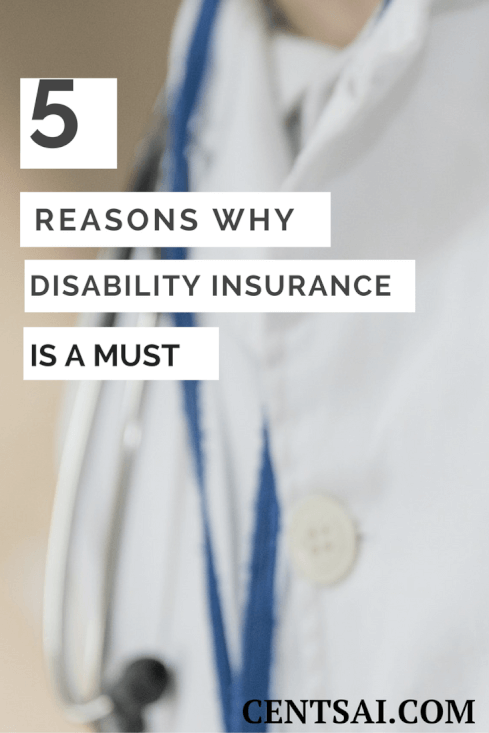 Getting disability insurance is more important than you might think - one little fall could throw you off-balance.