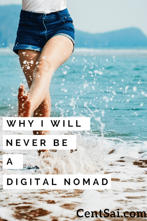 Digital nomads are people who use telecommunications technologies to work from anywhere, and they tend to do a lot of traveling. I feel like if I ever did become a digital nomad, I'd stick to road trips in the U.S. because I'm not too fond of flying.