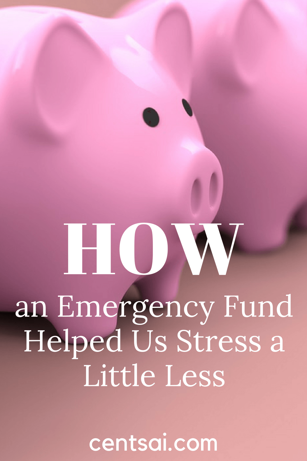 How an Emergency Fund Helped Us Stress a Little Less