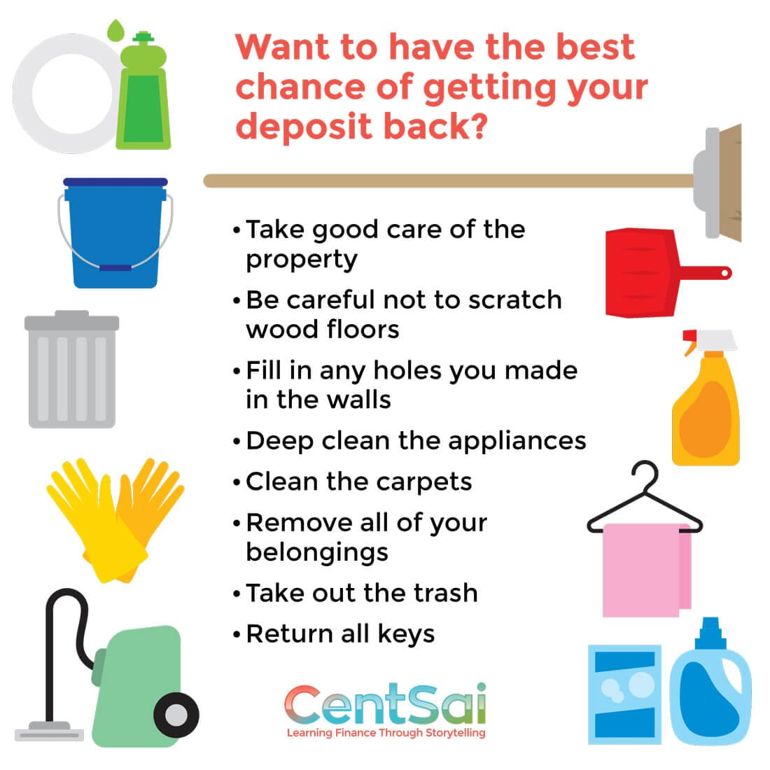 security deposit - 5 Questions to Ask When Renting an Apartment