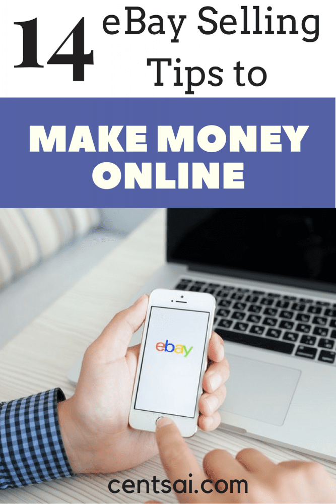 14 eBay Selling Tips to Make More Money Online. Unbelievable! Here are 14 eBay selling tips to help you makemore money! Thanks for pinning!