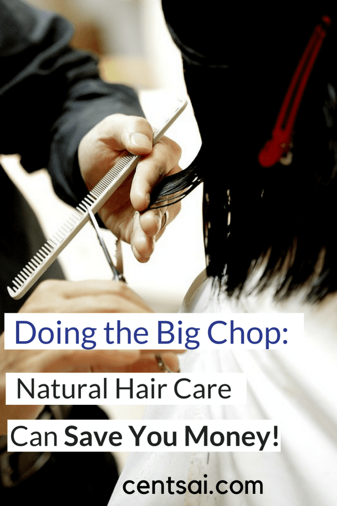 Doing the big chop and opting for natural hair care can save you hundreds of dollars a year. One woman shares her experience going natural and maybe you can save a bunch too! #savingmoney #frugaltips