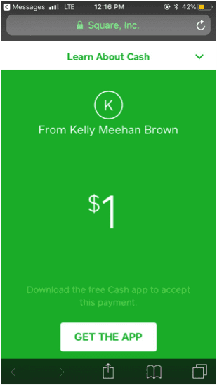 What's the Best Money-Transfer App for You?   Kelly's Square Cash Screen Shot