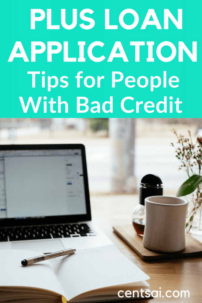 PLUS Loan Application Tips for People With Bad Credit. Need financial aid, but worry that your credit history will ruin your PLUS loan application? Learn how to apply for a PLUS loan with bad credit. #plusloanapplication #loanapplication