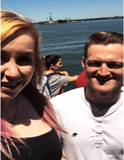 The Cost of Dining Out: My Extravagant Week | Kelly and Eoin on Staten Island Ferry