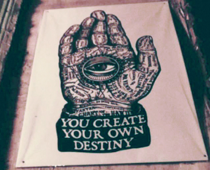 What are money scripts?   You create your own destiny hand   Photo by Daye Deura