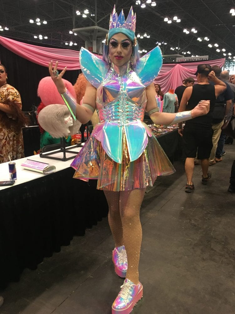 @Sabrina_Laurence attends RuPaul's DragCon NYC