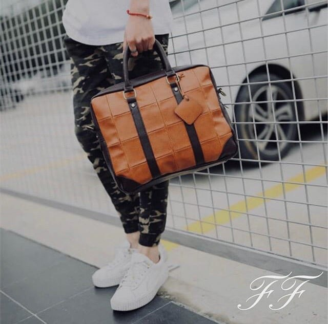 How to Start an E-Commerce Business: Paolo Franchesco's Story: P. Franchesco Ferrucci bag